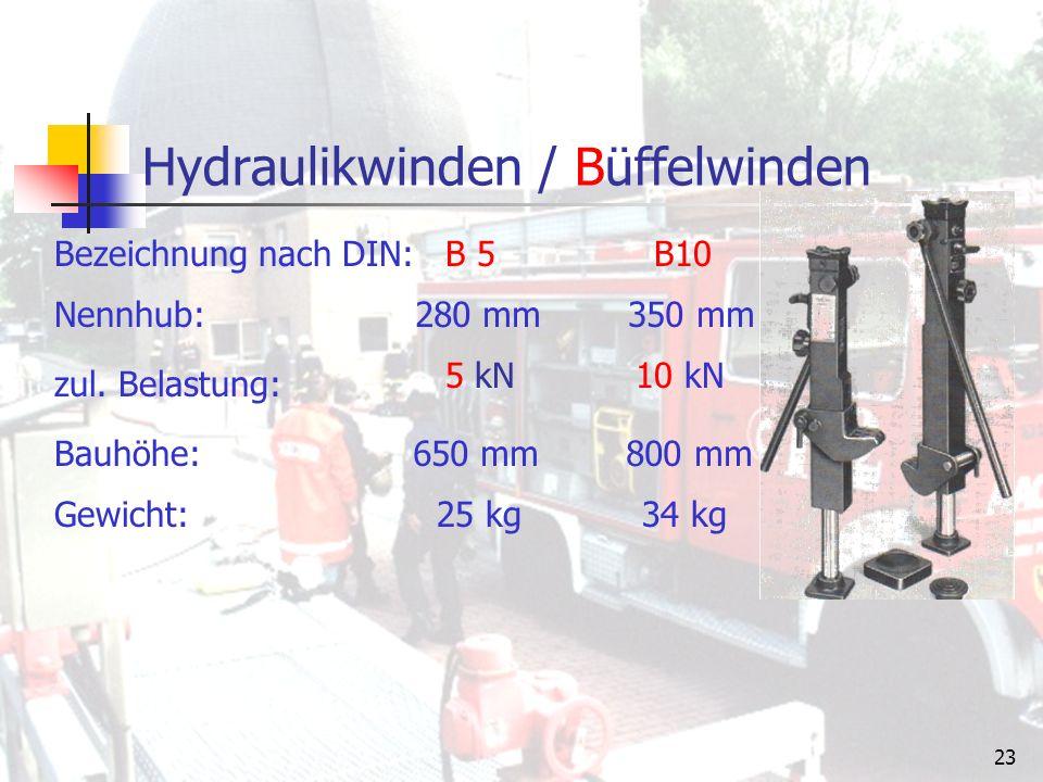 22 Hebesatz großer Hebesatz H1 kleiner Hebesatz H2 Den Hebesatz gibt es in den Ausführungen: beide Hebesätze werden über ein Hand- oder ein Motor- pumpenaggregat betrieben.