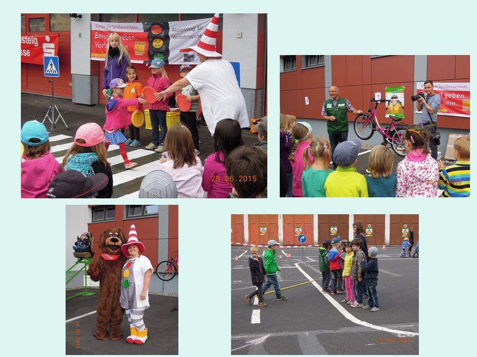 """Bundesprojekt """"Kinder im Straßenverkehr am 11. Juni in Zella-Mehlis"""