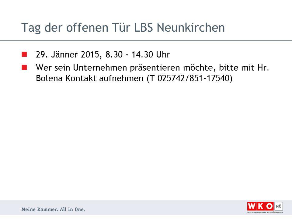 Tag der offenen Tür LBS Neunkirchen 29.
