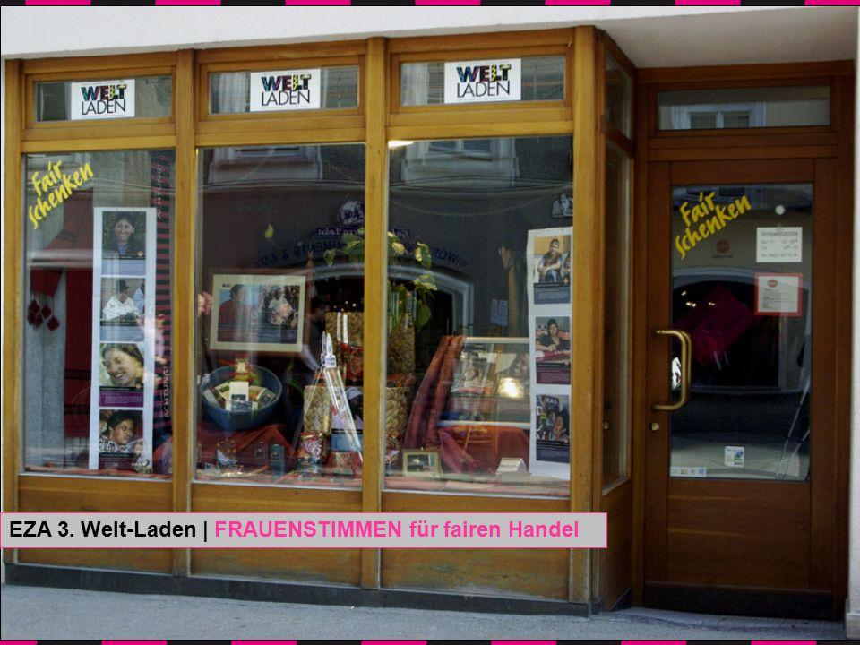 Fotos: Irene Kar EZA 3. Welt-Laden | FRAUENSTIMMEN für fairen Handel