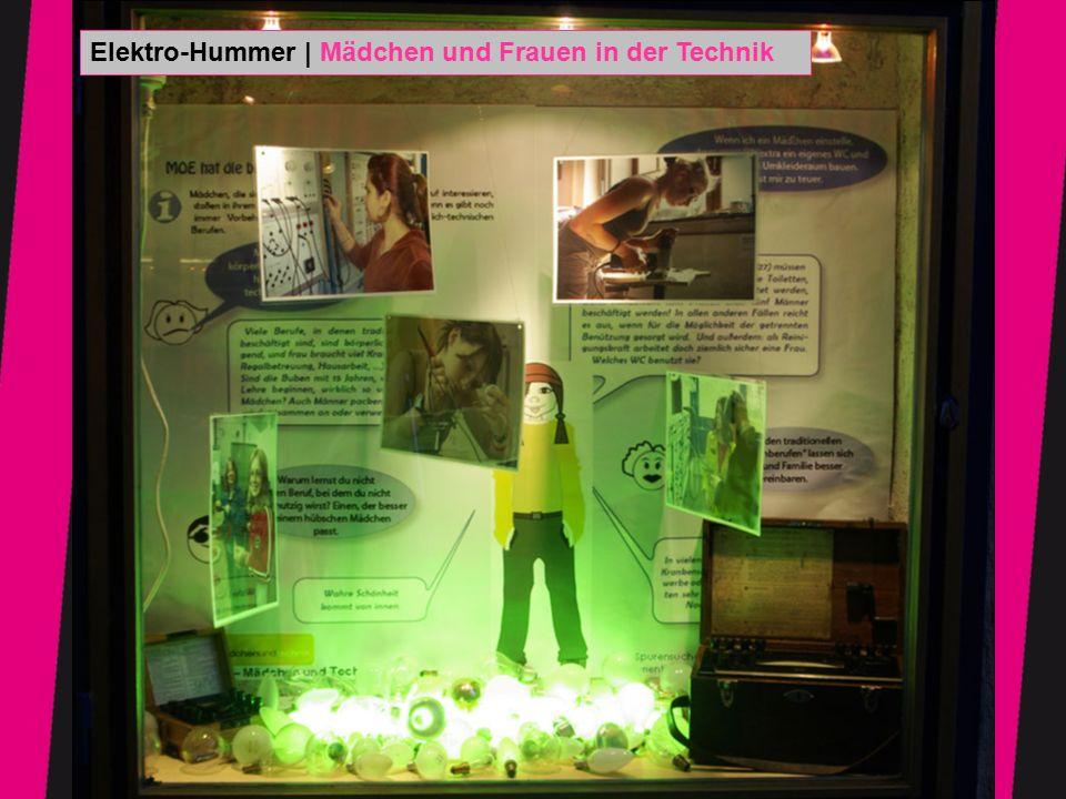 Fotos: Irene Kar Elektro-Hummer | Mädchen und Frauen in der Technik