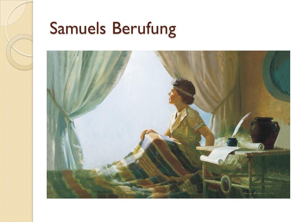 Samuels Berufung