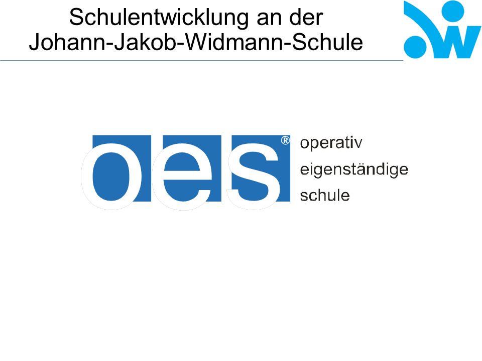 Schulentwicklung an der Johann-Jakob-Widmann-Schule