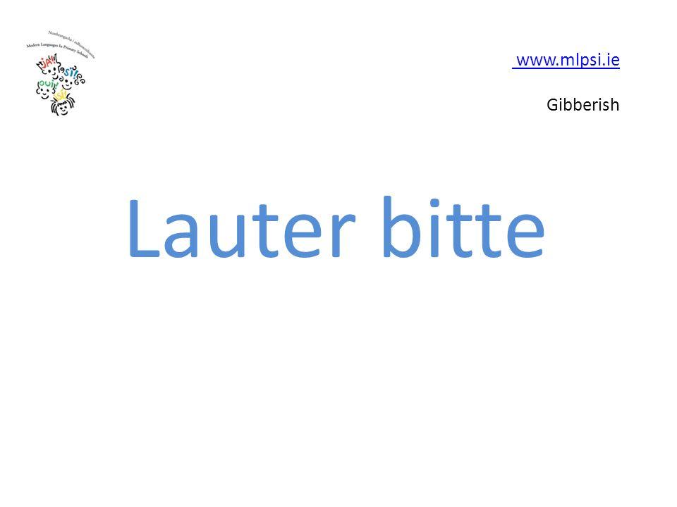 www.mlpsi.ie www.mlpsi.ie Gibberish Lauter bitte