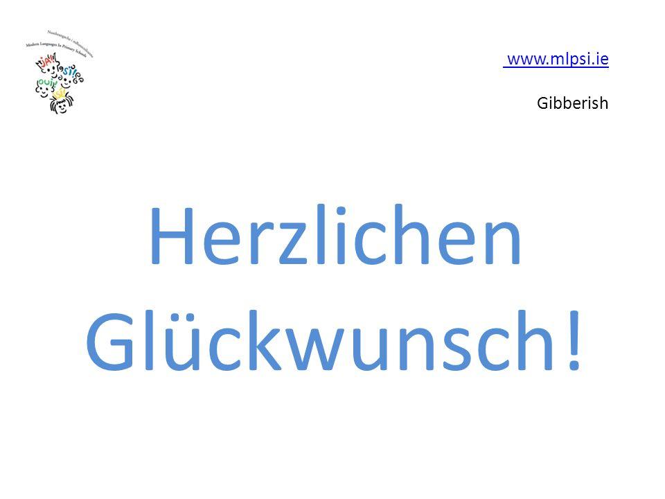 www.mlpsi.ie www.mlpsi.ie Gibberish Herzlichen Glückwunsch!