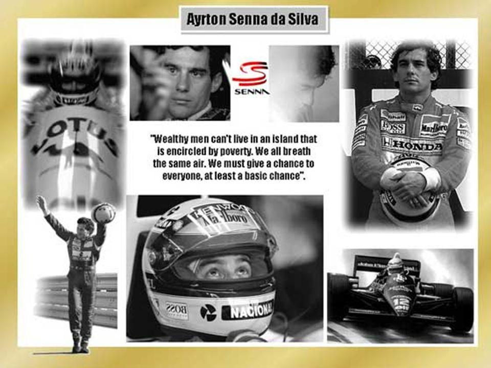 Senna war ein Gigant. Für mich war es immer unverletzbar...