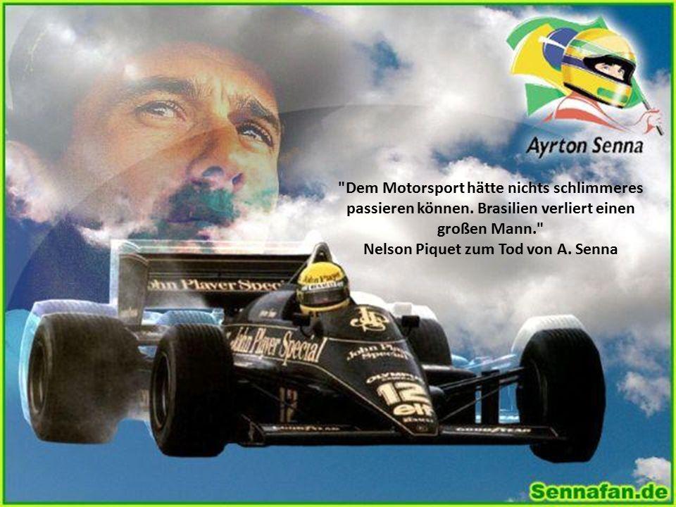 Senna ist der Stärkste. Gerhard Berger 1989 über Ayrton Senna