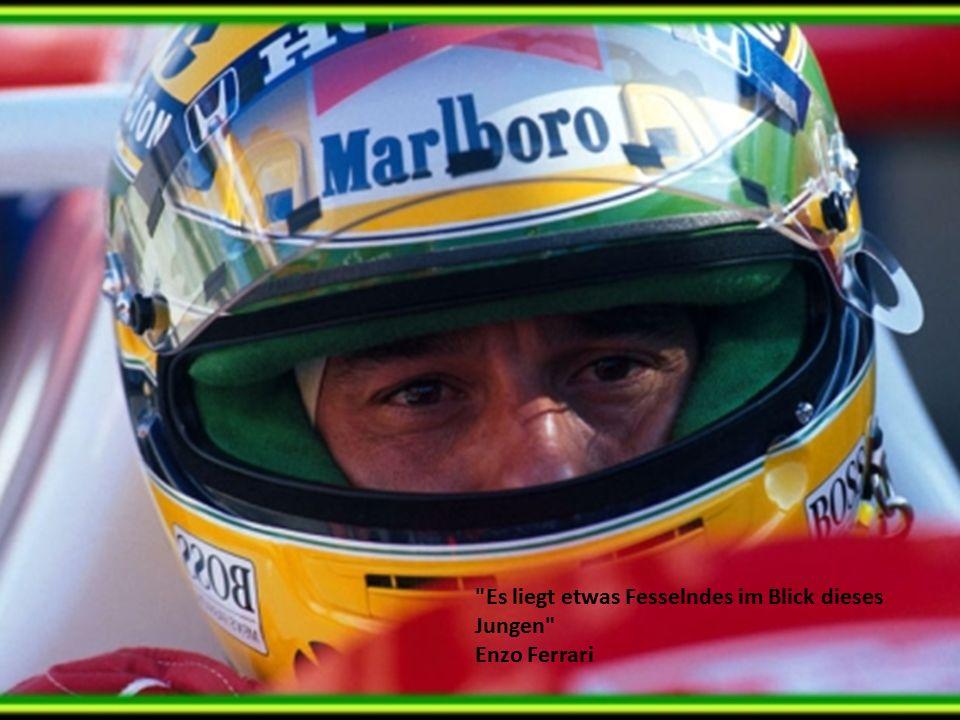 Es liegt etwas Fesselndes im Blick dieses Jungen Enzo Ferrari