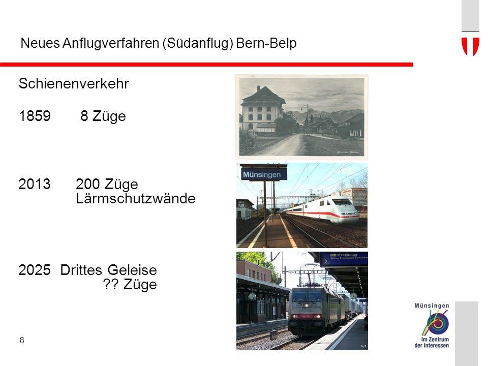 Schienenverkehr 18598 Züge 2013200 Züge Lärmschutzwände 2025Drittes Geleise ?? Züge 8