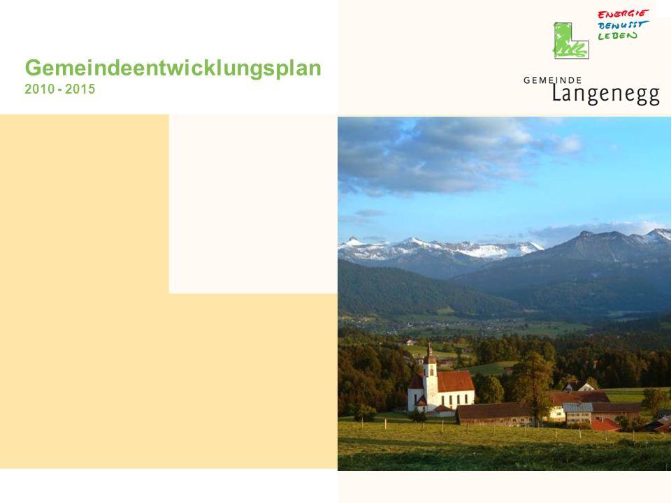 Gemeindeentwicklungsplan 2010 - 2015