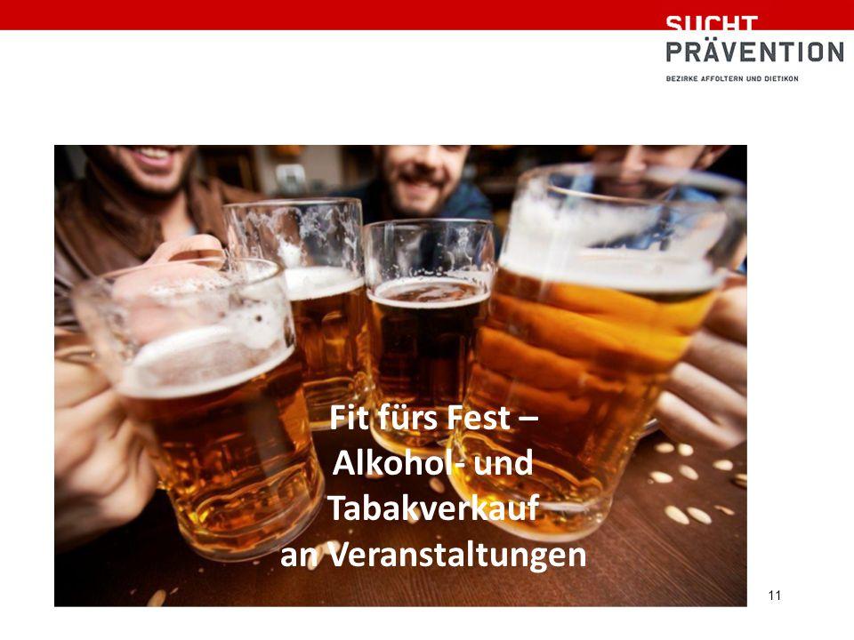 11 Fit fürs Fest – Alkohol- und Tabakverkauf an Veranstaltungen
