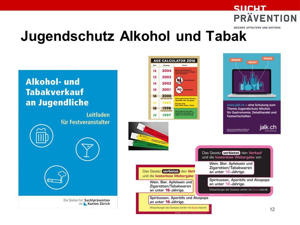 Jugendschutz Alkohol und Tabak 12