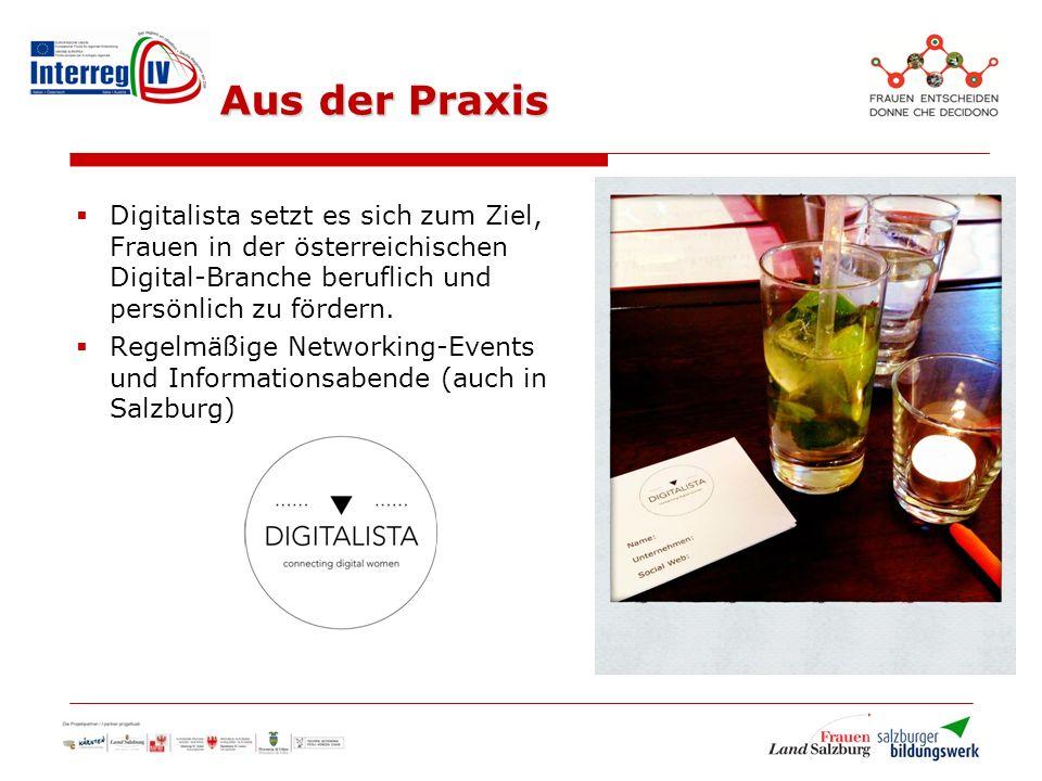  Digitalista setzt es sich zum Ziel, Frauen in der österreichischen Digital-Branche beruflich und persönlich zu fördern.