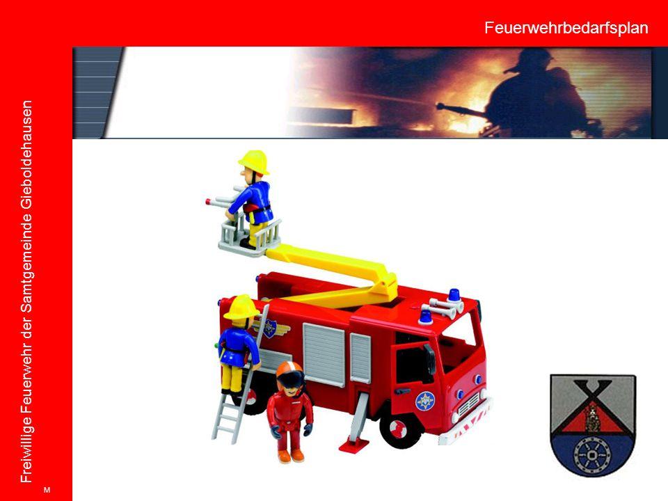 Feuerwehrbedarfsplan Freiwillige Feuerwehr der Samtgemeinde Gieboldehausen M