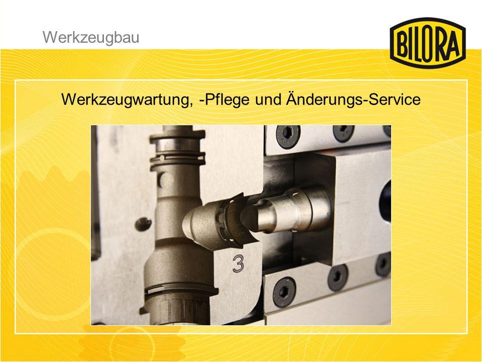 Werkzeugwartung, -Pflege und Änderungs-Service Werkzeugbau