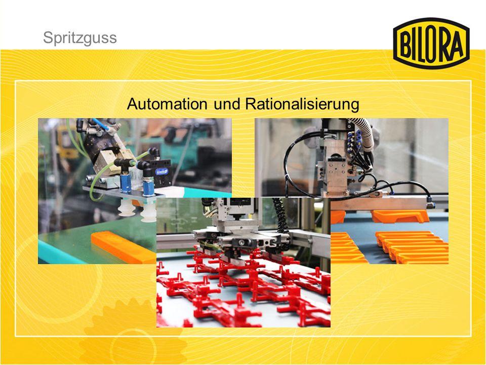 Automation und Rationalisierung Spritzguss