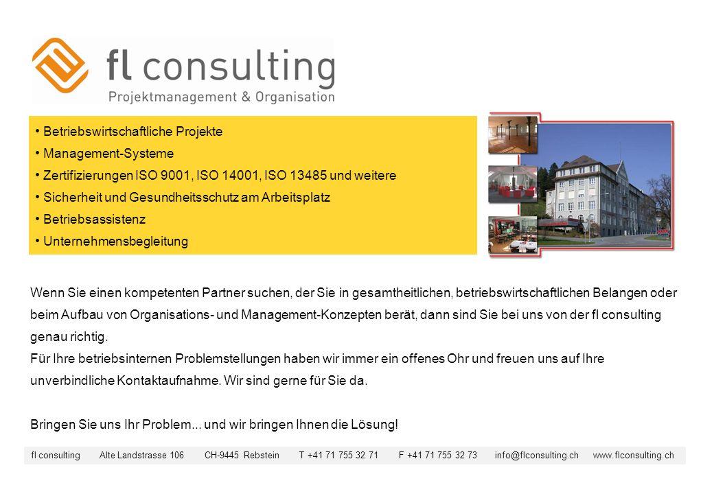Betriebswirtschaftliche Projekte Management-Systeme Zertifizierungen ISO 9001, ISO 14001, ISO 13485 und weitere Sicherheit und Gesundheitsschutz am Ar