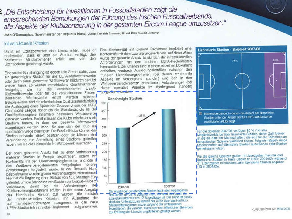 30 Bundesamt für Sport Eidg. Hochschule für Sport Magglingen Beispiel UEFA Lukas Luescher