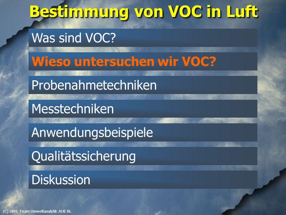 (C) 2001 Team Umweltanalytik AUE BL Polare VOC, 1997-1999 Kalibrationsstandard (2 ng/µl), SIM