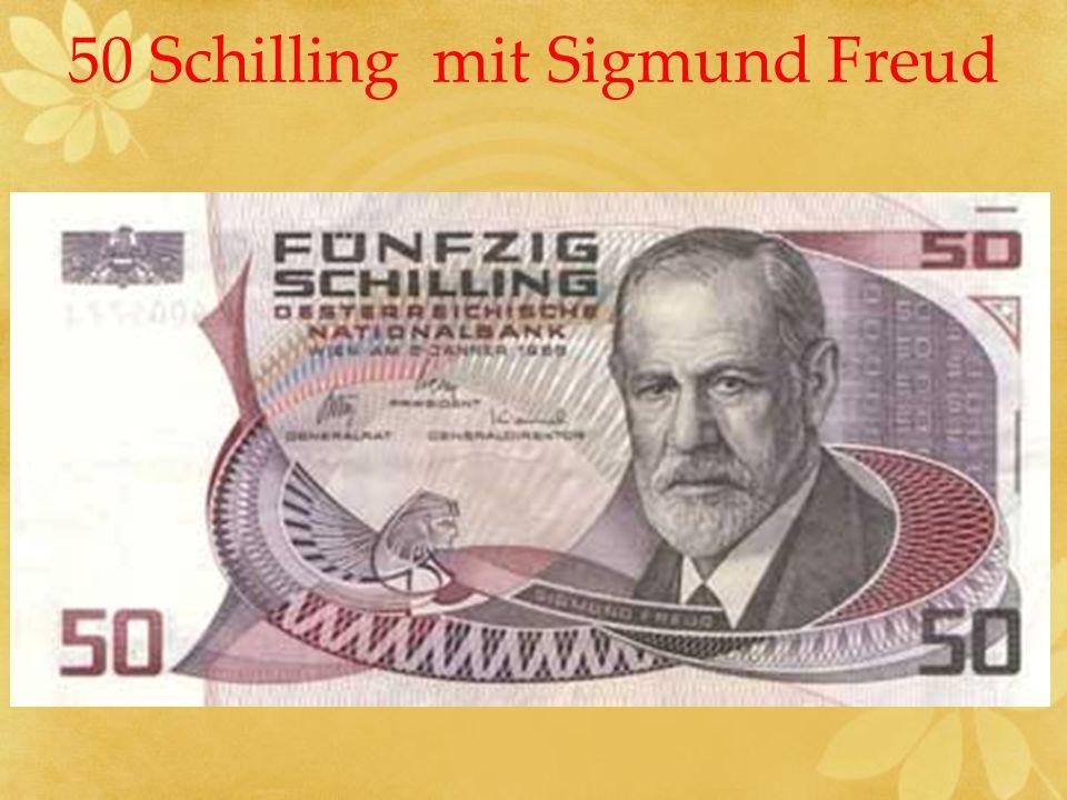 50 Schilling mit Sigmund Freud