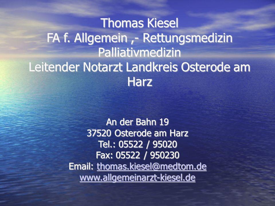 Thomas Kiesel FA f.
