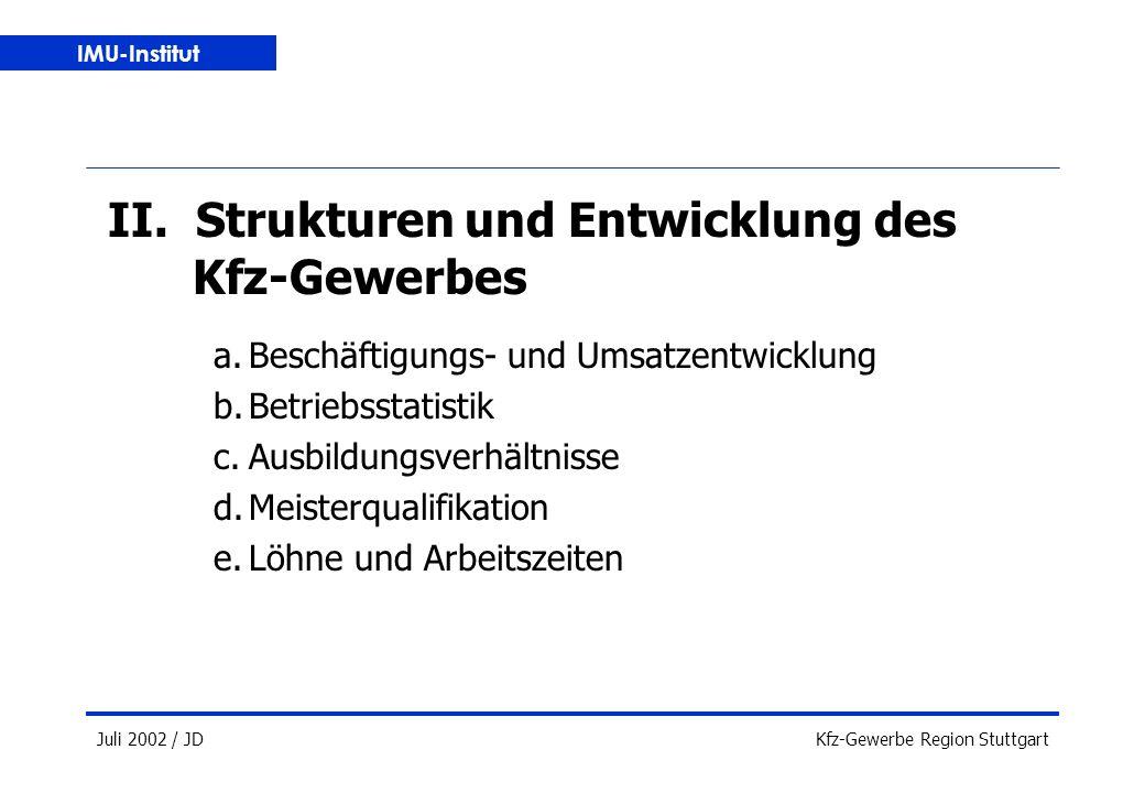 IMU-Institut Juli 2002 / JDKfz-Gewerbe Region Stuttgart II.