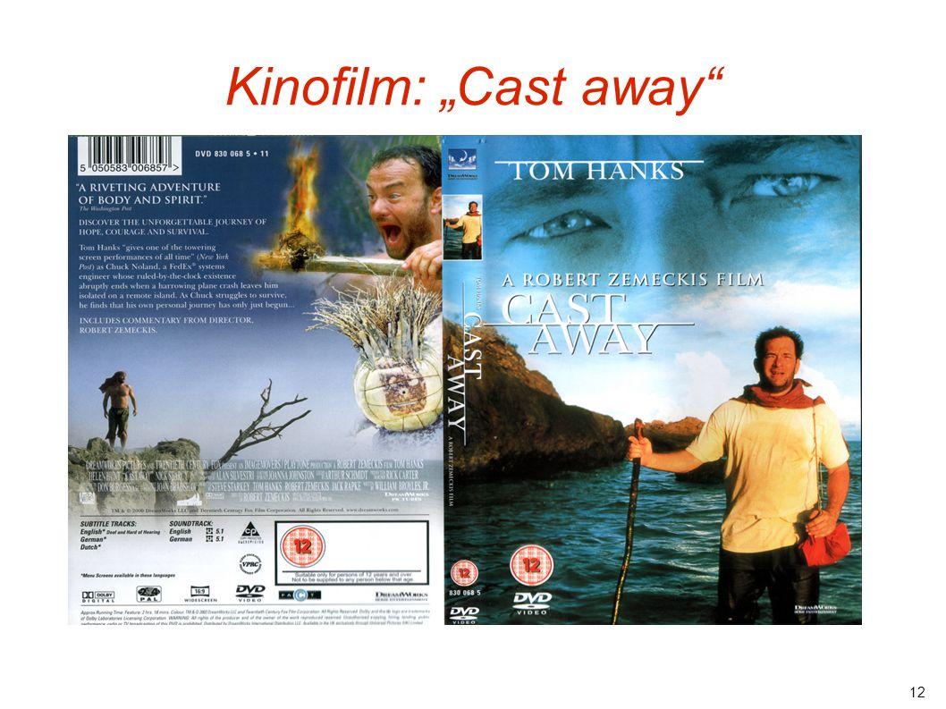 "12 Kinofilm: ""Cast away"""