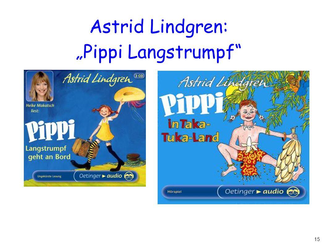 "15 Astrid Lindgren: ""Pippi Langstrumpf"""