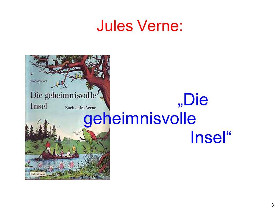 """8 Jules Verne: """"Die geheimnisvolle Insel"""""""
