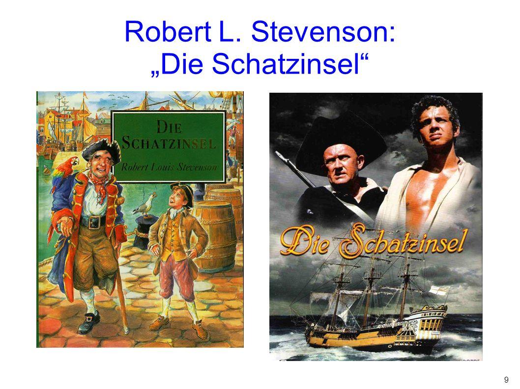 """9 Robert L. Stevenson: """"Die Schatzinsel"""""""