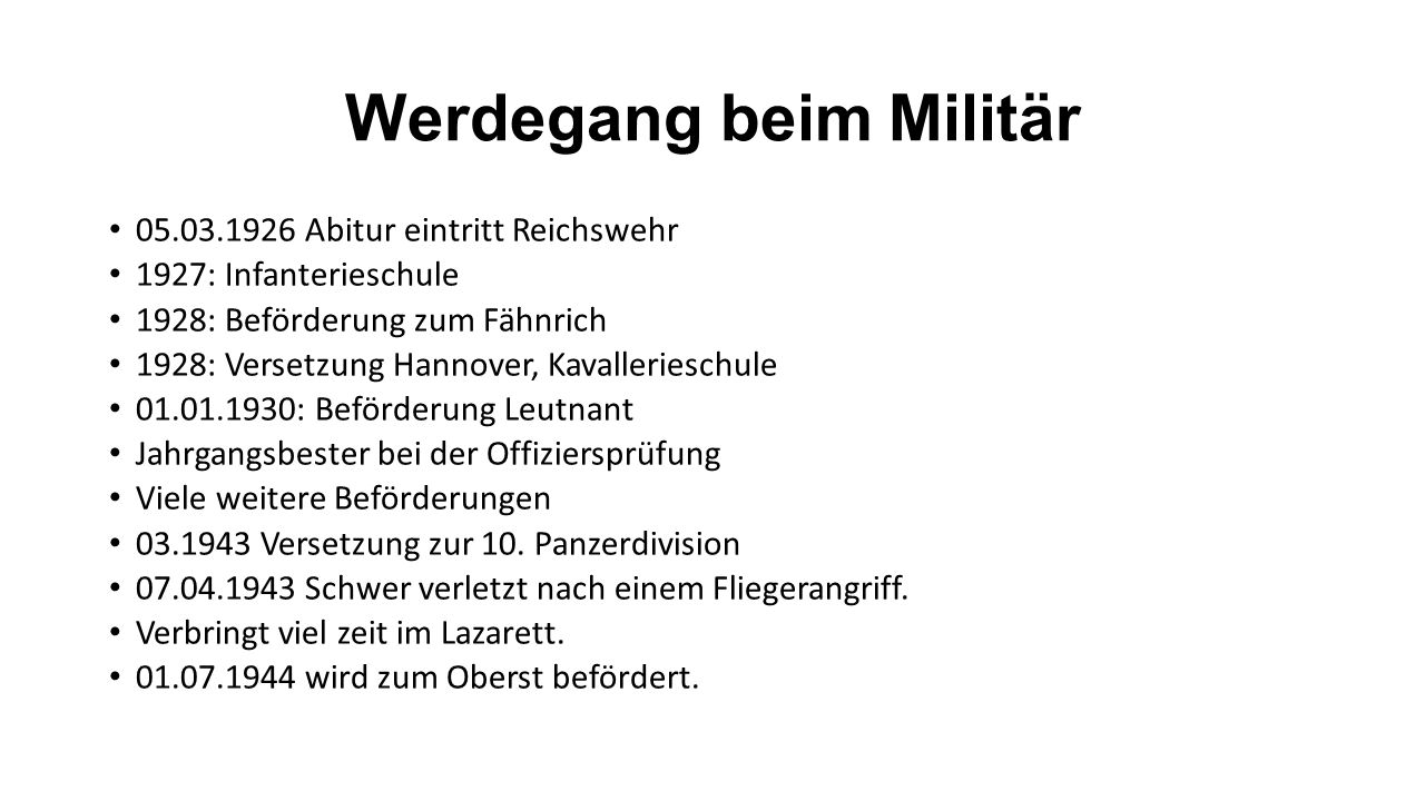 """Staufenberg für denn Nationalsozialismus Findet den Anfang des Krieges für """"Erlösung ."""