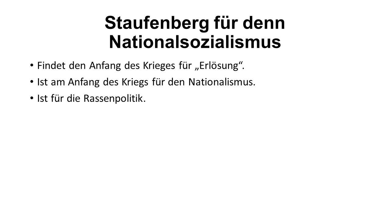 Anschließung an die Widerstandsgruppe Schloss sich im Herbst 1941 an die Widerstansgruppe um Ludwig Beck an.