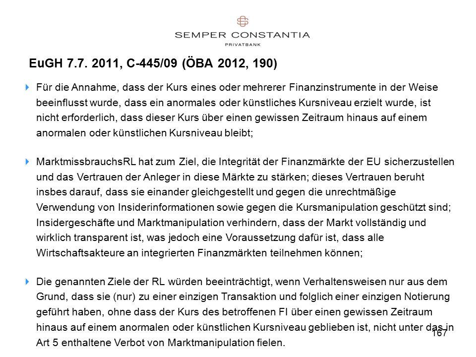 167 EuGH 7.7.