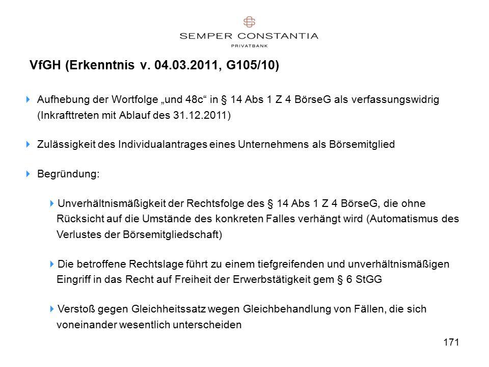 171 VfGH (Erkenntnis v.
