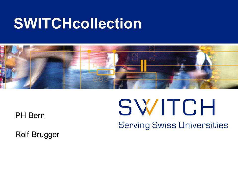 © 2010 SWITCH Projekt: Learning Object Repository Community Bibliothek für die Ablage und Suche von digitalen Lerninhalten der Hochschulen