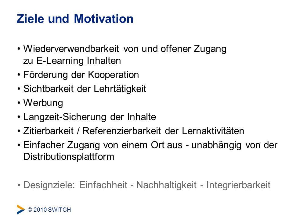 © 2010 SWITCH Erste Erfahrungen und Herausforderungen Was funktioniert.