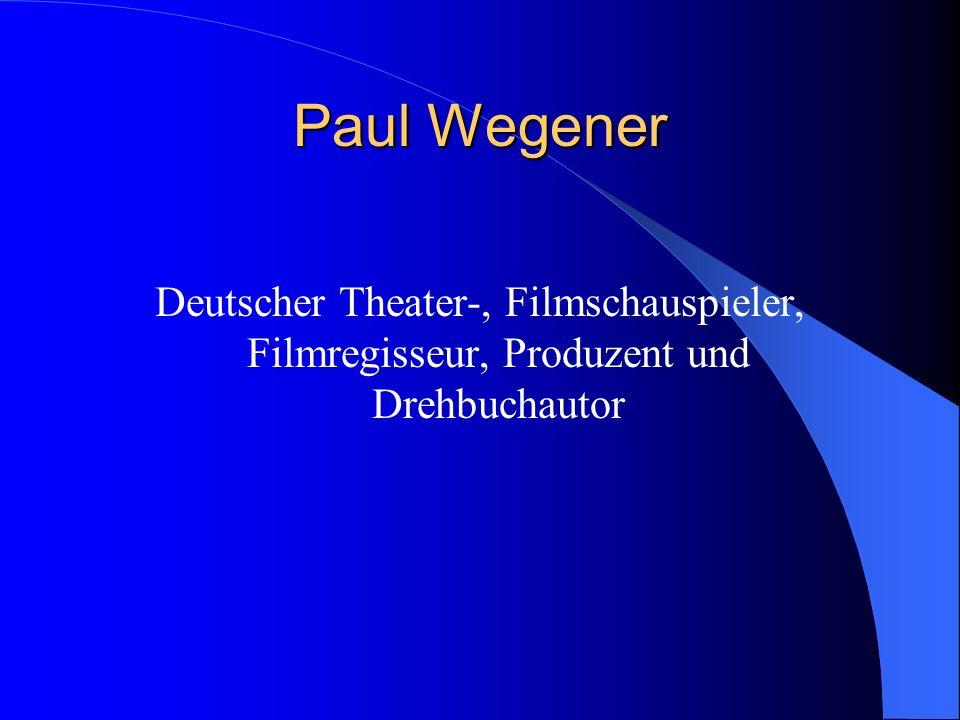 Deutscher Theater-, Filmschauspieler, Filmregisseur, Produzent und Drehbuchautor