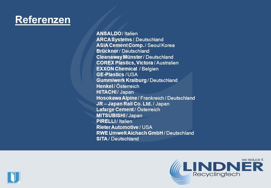 ANSALDO / Italien ARCA Systems / Deutschland ASIA Cement Comp.