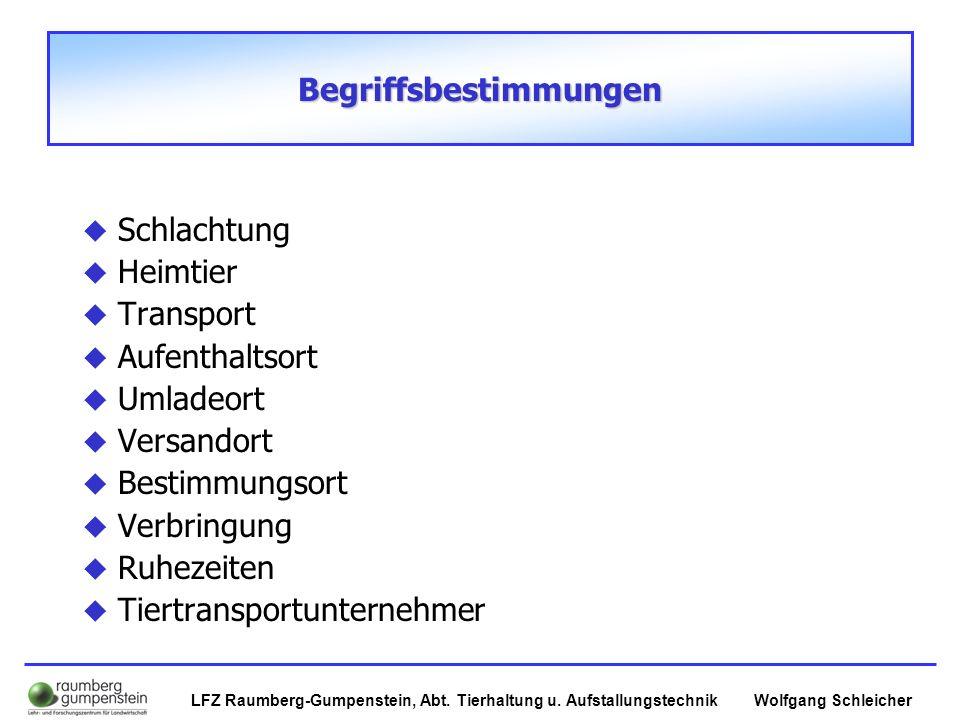 Wolfgang SchleicherLFZ Raumberg-Gumpenstein, Abt.Tierhaltung u.