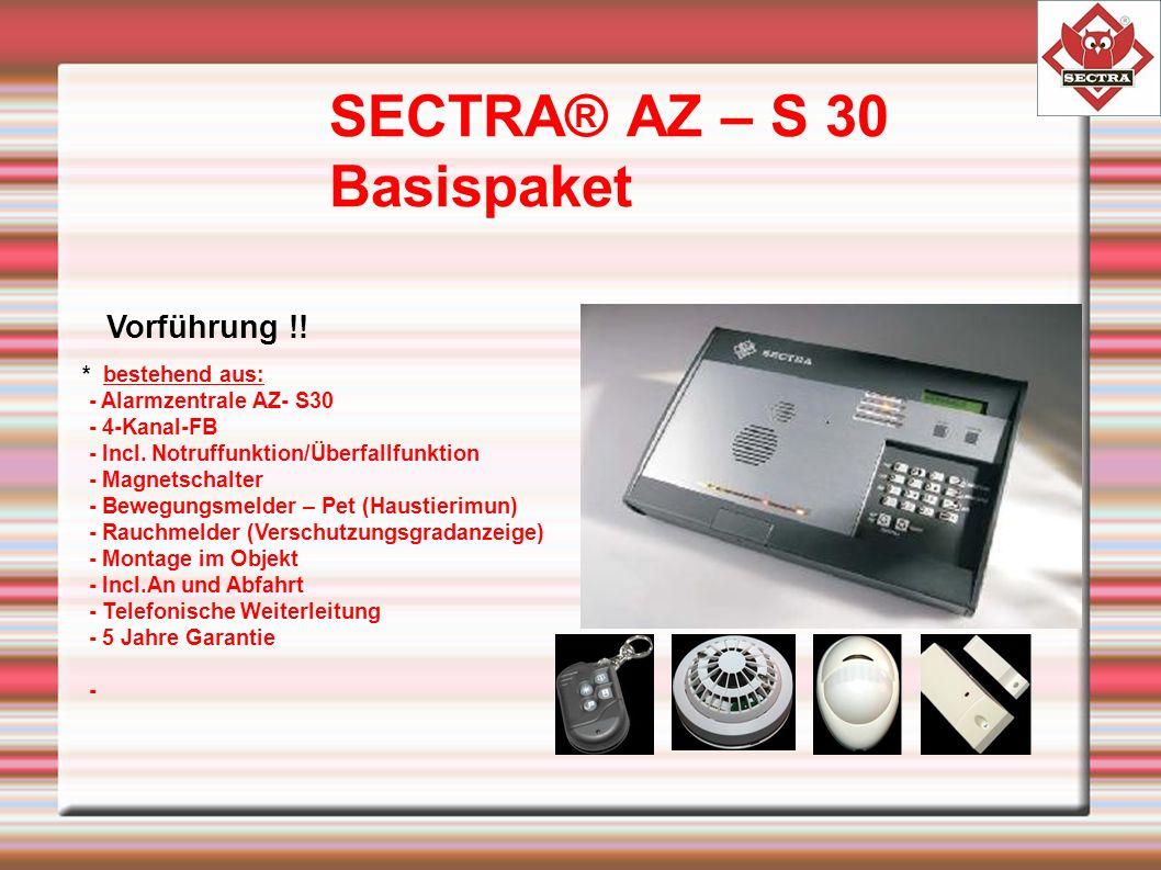 SECTRA® AZ – S 30 Basispaket Vorführung !.