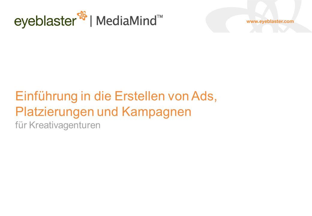 Einführung in die Erstellen von Ads, Platzierungen und Kampagnen für Kreativagenturen