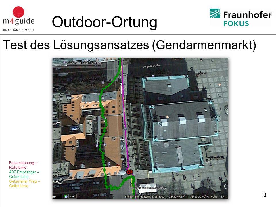 heureka Consult Positionsermittlung in Gebäuden Satellitennavigation (z.B.
