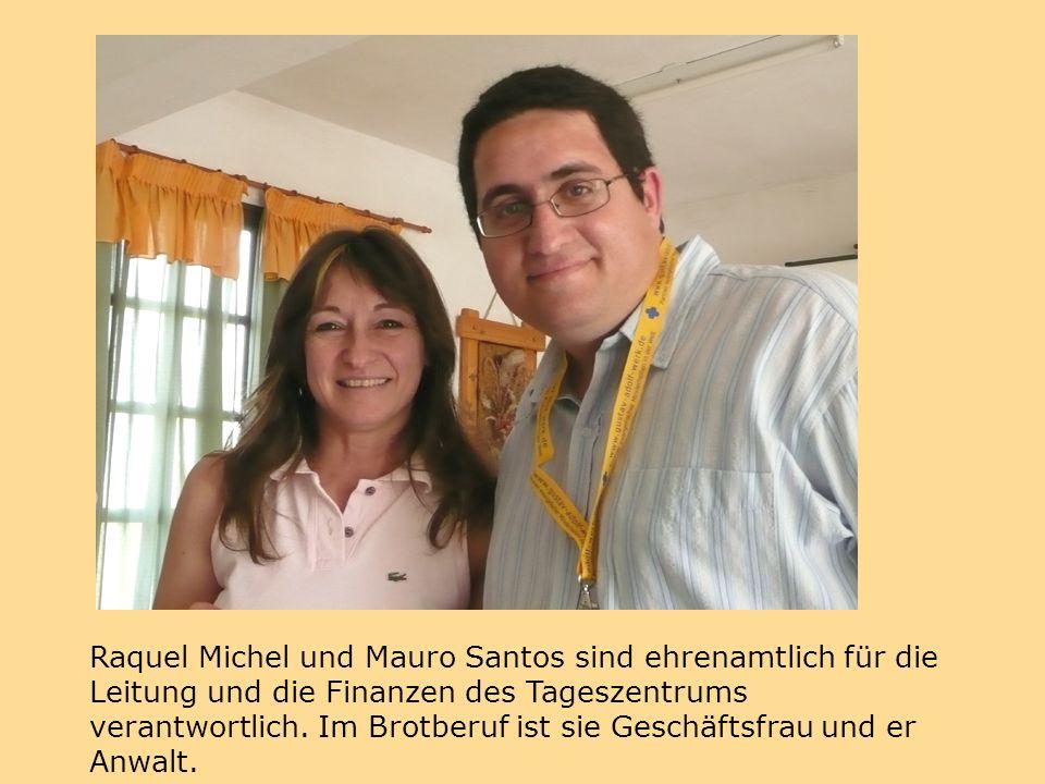 Raquel Michel und Mauro Santos sind ehrenamtlich für die Leitung und die Finanzen des Tageszentrums verantwortlich.