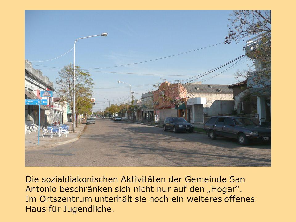 """Die sozialdiakonischen Aktivitäten der Gemeinde San Antonio beschränken sich nicht nur auf den """"Hogar ."""