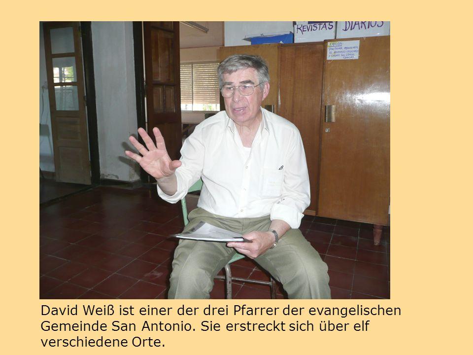David Weiß ist einer der drei Pfarrer der evangelischen Gemeinde San Antonio.