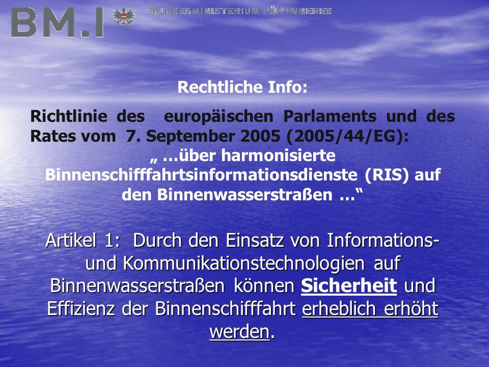 Rechtliche Info: Richtlinie des europäischen Parlaments und des Rates vom 7.