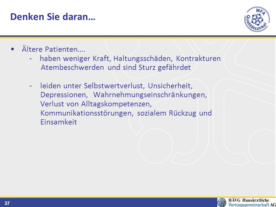 37 Ältere Patienten….