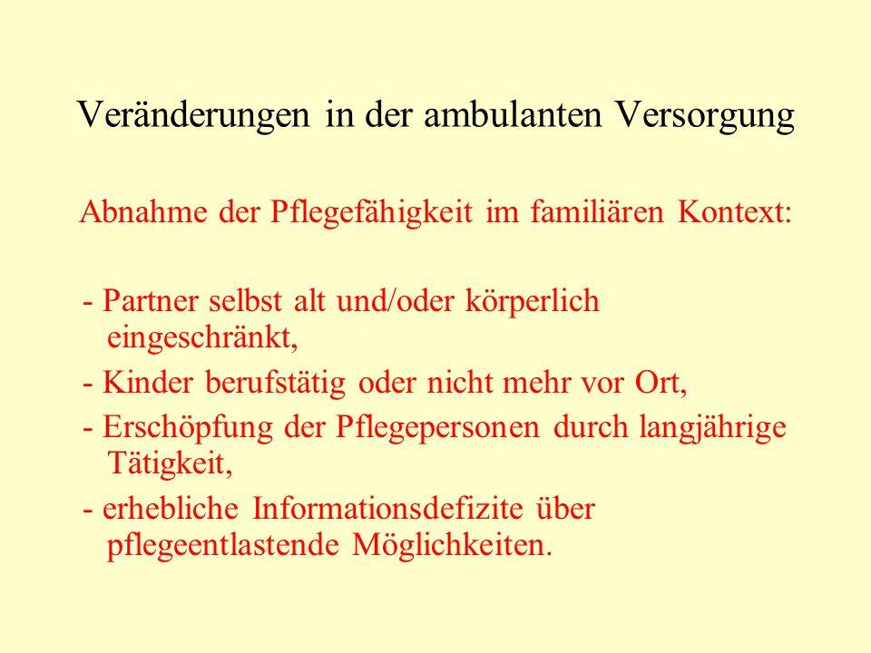 Konsequenz für den ev.Pflegedienst Eilsen e.V.