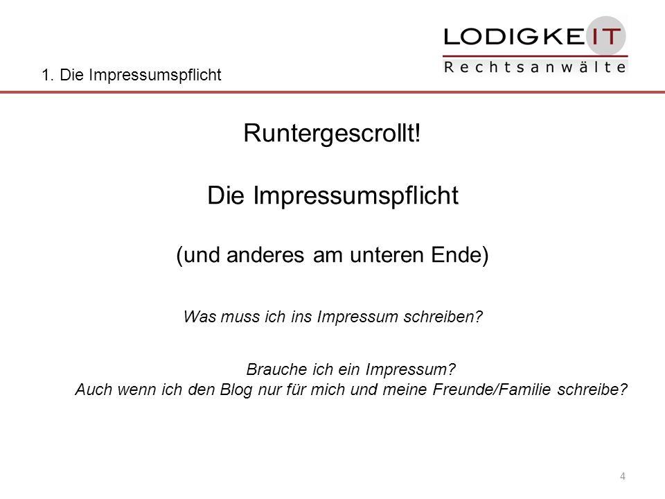 Vielen Dank für Ihre Aufmerksamkeit.Dr. Klaus Lodigkeit, LL.