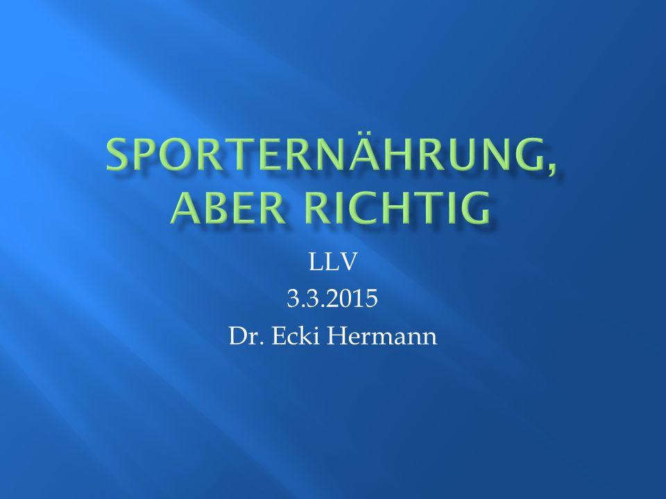 LLV 3.3.2015 Dr. Ecki Hermann